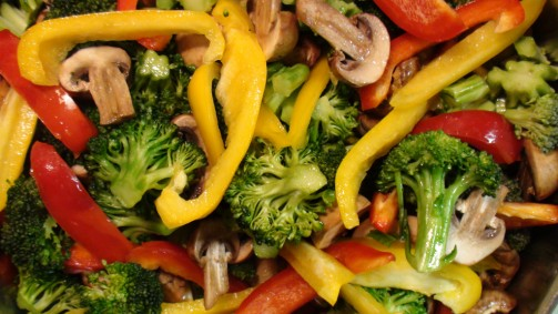 Food rich in vitamins